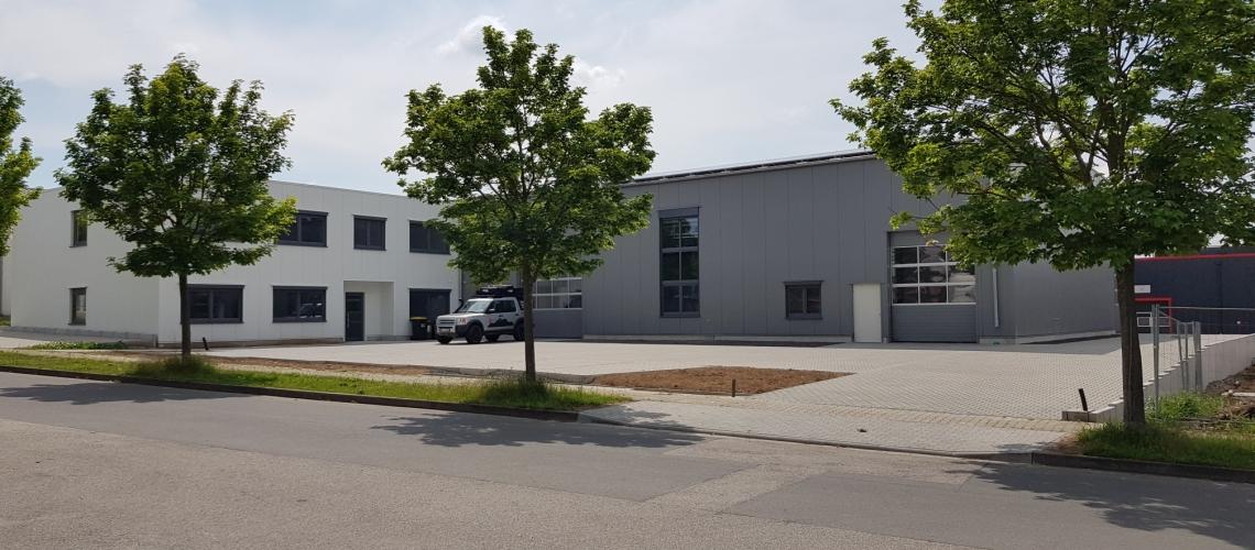 Firmengebäude bikeBOX24 GmbH